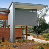 This project involved the alterations and additions of a modest brick residence built in 1951.